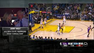 Jerry West  Kobe a top 5 10 player ever, like a son to me 2016 01 14