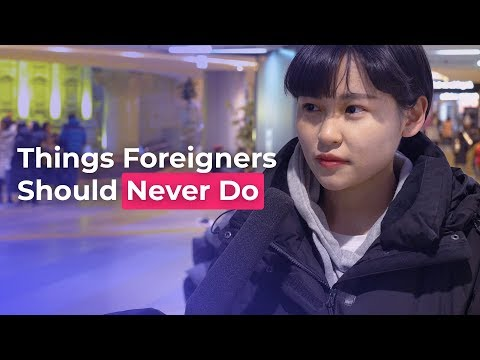 Things Foreigners Should Never Do | Koreans Answer
