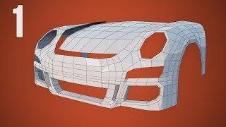 CGC Classic: Modeling a Porsche Pt. 1 - Hood, Bumper, and Fenders (Blender 2.4)