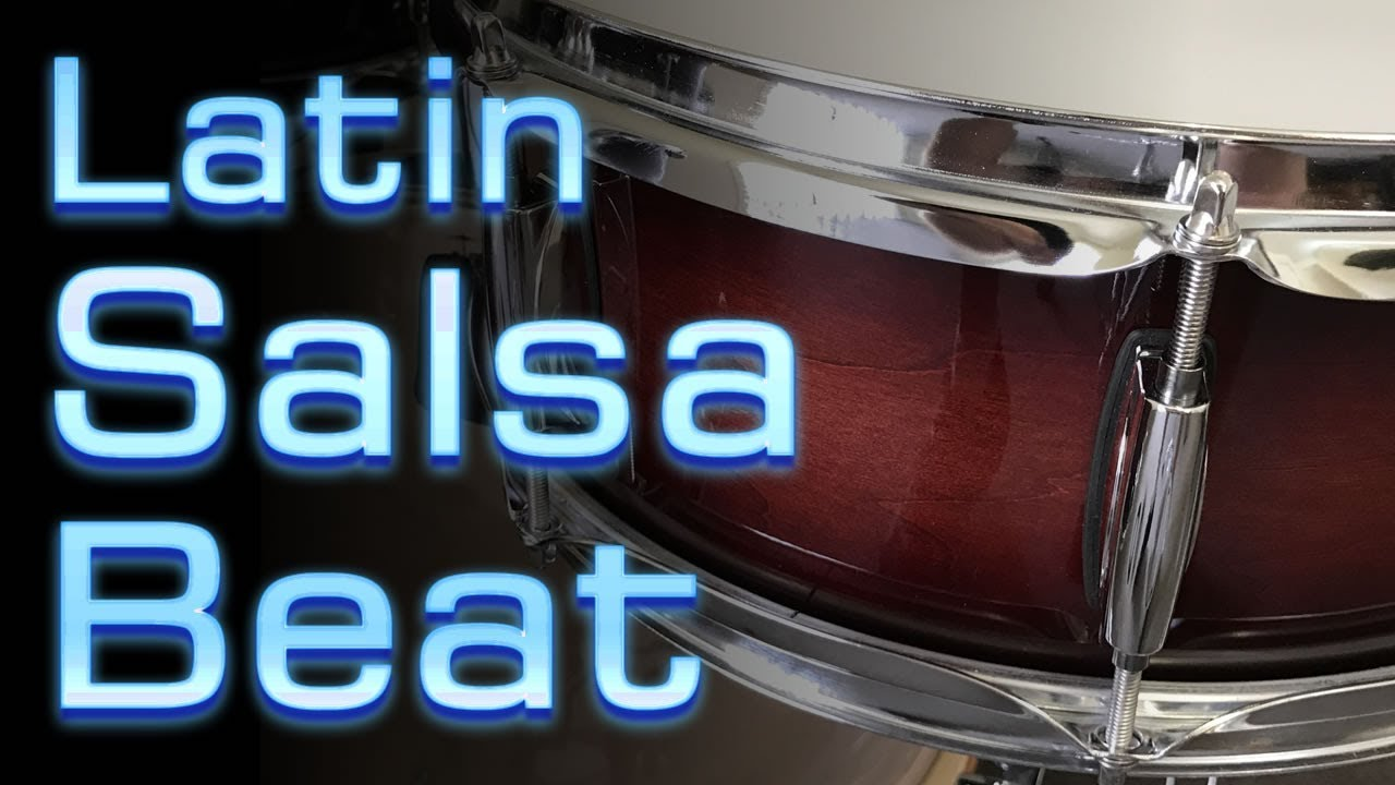 Latin Salsa Beat - Pattern for the Drum Kit