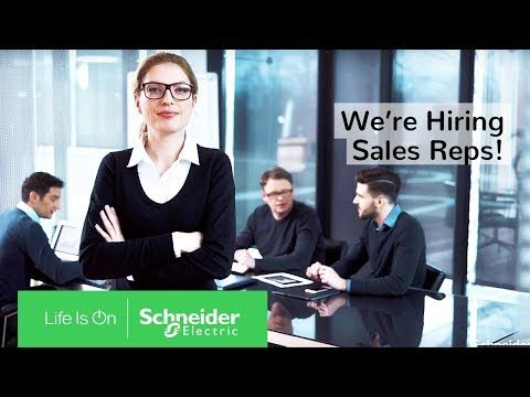 Sales Representatives @ Schneider Electric – We Are Hiring! | Schneider Electric