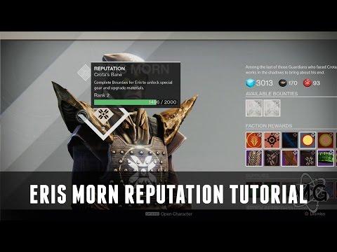 [DESTINY] - Level Up Eris Morn's Reputation EASY