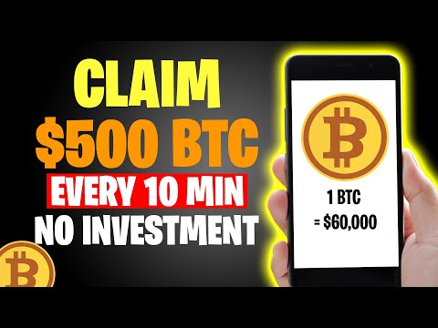 Earn FREE BITCOIN EVERY 5 MIN (How To Earn Bitcoin 2021)