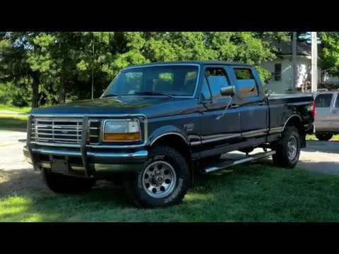 1997 Ford F250 Crew Cab PowerStroke