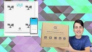 Bluetooth Body Fat Scale Review // Best Smart Scale 2019 // Arboleaf Smart Wireless Scale White