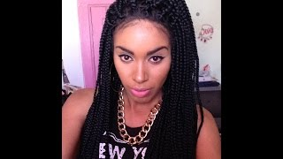 poetic justice box braided lace front wig review