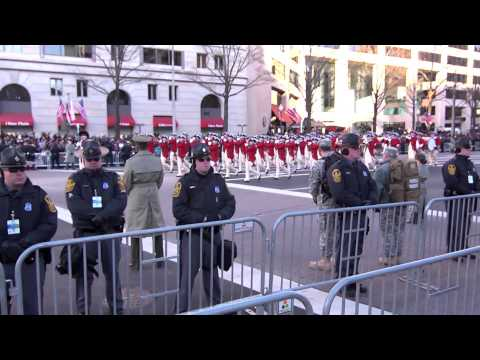 2013 Inaugural Parade: The U.S. Army Band. Old Guard Fife & Drum, The U.S. Army Field Band