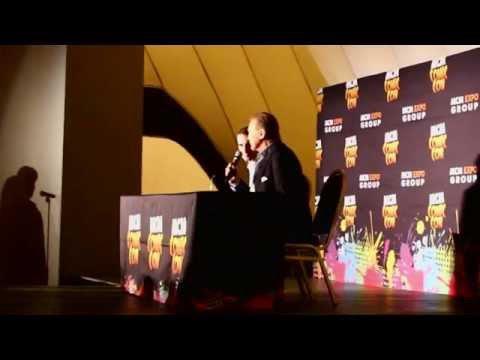 Lee Majors at MCM Comic Con Birmingham 2015