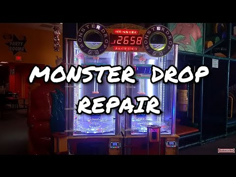 Monster Drop Arcade Game Repair: Lower Ball Trough Assembly