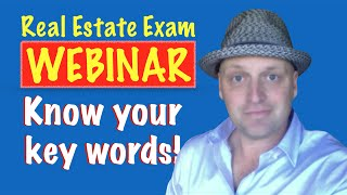 Know Your Keywords Real Estate Exam