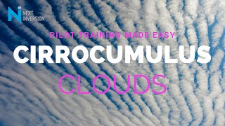 How can to identify a Cirrocumulus cloud