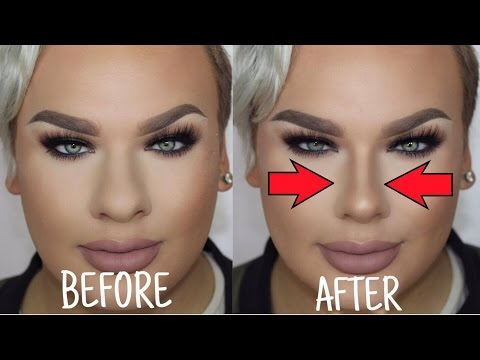 How to Make a BIG Nose look Small | Nose Contouring