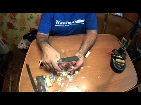 видео: Изготовление воблера от А до Я. Вырезка и обточка заготовки.2-я серия.