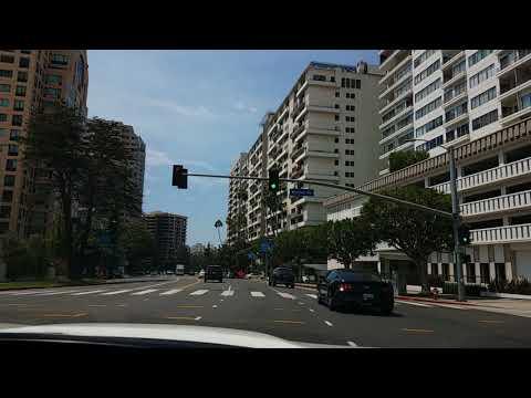 Driving ... Wilshire Blvd Beverly Hills