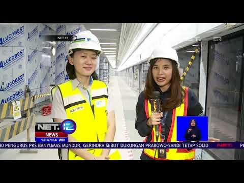 Yuk Kita Lihat Progres MRT Jakarta Yang Sudah 96 Persen   NET12 Mp3