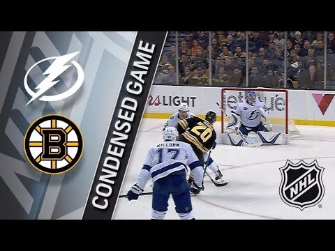 Tampa Bay Lightning vs Boston Bruins - November 29, 2017 | Game Highlights | NHL 2017/18. Обзор