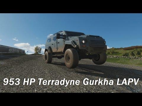 Extreme Offroad Silly Builds - 2014 Terradyne Gurkha LAPV (Forza Horizon 4)