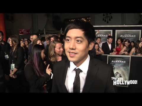 Allen Evangelista excitement of Project Almanac & reppin for Filipino actors in Hollywood