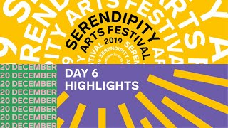 7ty7 | Serendipity Arts Festival 2019 | Day 6 Highlights #LookToSee
