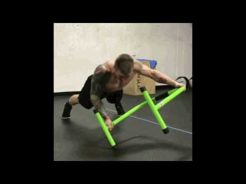 Equalizer Bars for Body Weight Exercise