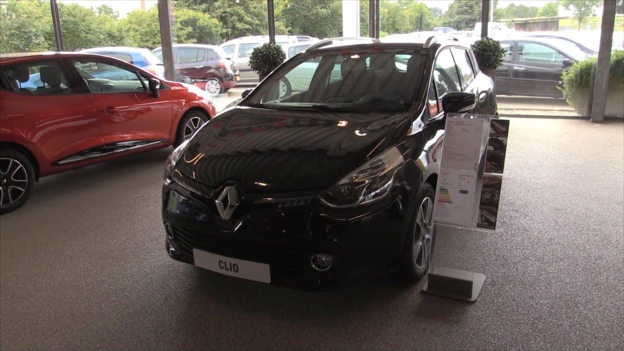 Renault Clio Estate 2015 In depth review Interior Exterior - YouTube