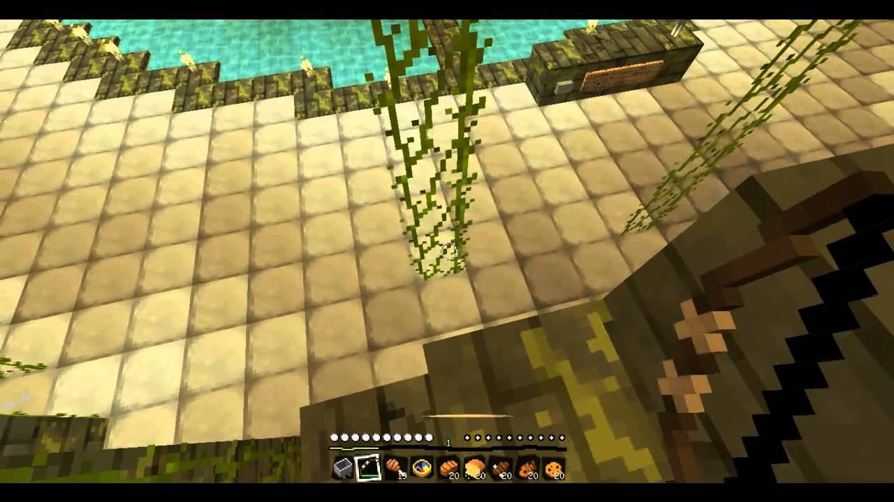 4 - Oh ! Quel beau jardin ! - Minecraft - YouTube