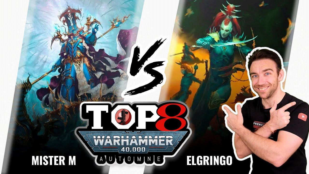 Download Warhammer 40k Tournois TOP8 Automne - Thousand sons VS Drukhari