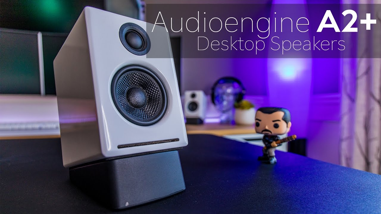 A2 premium powered desktop speakers youtube - Audioengine A2 Powered Desktop Speaker Review Big Sound In A Small Package