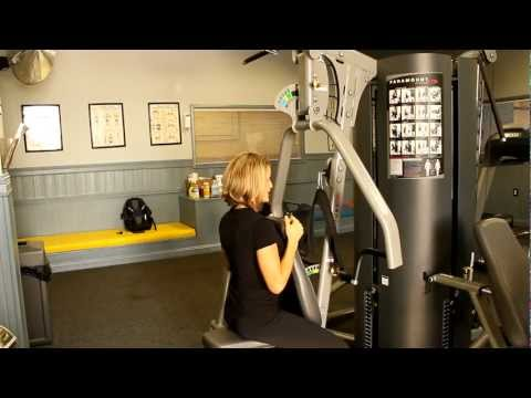 How To Use The Paramount MP Chest, Row And  Shoulder Station