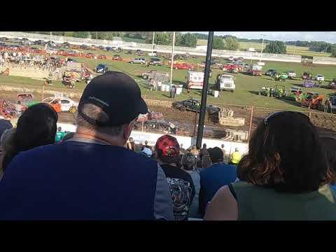 Dodge County Fair Demo Derby #6