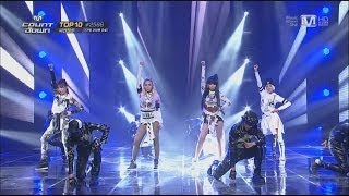 Repeat youtube video 2NE1-'COME BACK HOME' 0320 M COUNTDOWN: NO.1 OF THE WEEK