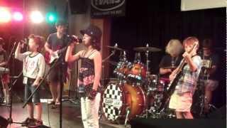 """Evan Cone, Drummer, with band """"KING"""" perform at Camp Jam Atlanta - June 22, 2012"""