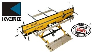 Гибочный станок, листогиб Sorex 1660 цена купить(Листогибочный станок Sorex ZRS 1660 Наша компания реализует следующие модели гибочных станков от производителя..., 2014-09-10T13:19:39.000Z)