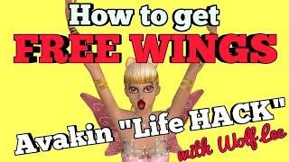 FREE WINGS life HACK on Avakin Life; Gift Ideas [Vlogmas 6]