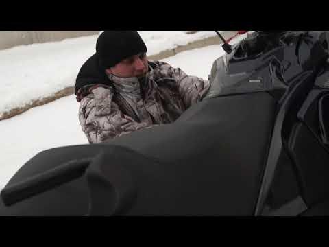 "снегоход ""Vector 551I"" установка широкого ремня вариатора"