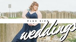 Plus Size Weddings | Brides, Bridesmaids, and Gowns