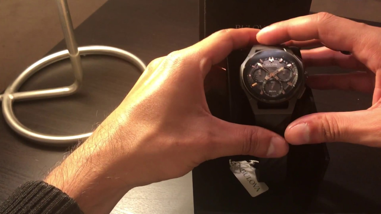 a6721fac2 Bulova Curv Review 2018 Chronograph Men's Watch 98A162 - YouTube