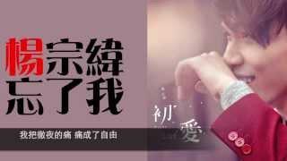 忘了我 - 楊宗緯 歌詞版 thumbnail