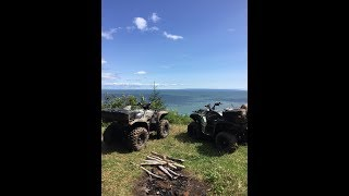 Sussex Valley Trails: 117klm, ATV Overlander, Snack with a View, Amazing Trails