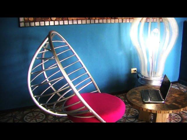 Как сделать крутое кресло