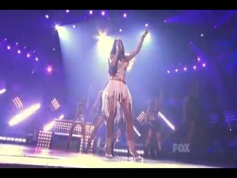 Right There - Nicole Scherzinger - Live dancing  @  the American Idol 2011 featuring 50 Cent