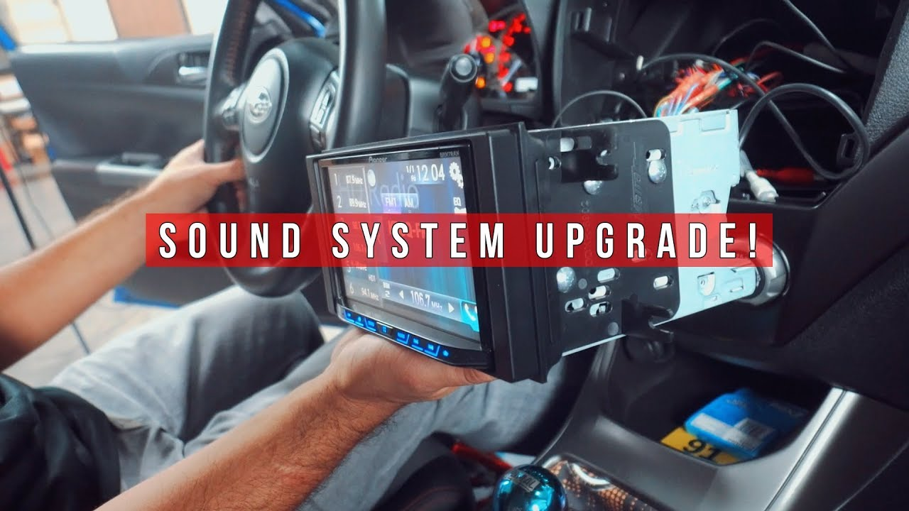 Wrx Sound System Upgrade Pioneer
