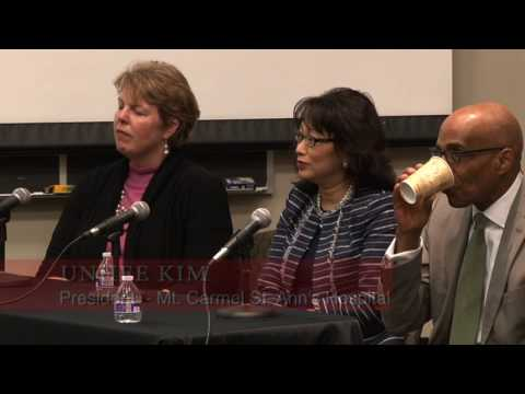 """Diversity and Inclusion in Health Care: A Leadership Perspective"" at Otterbein University (3/24/17)"