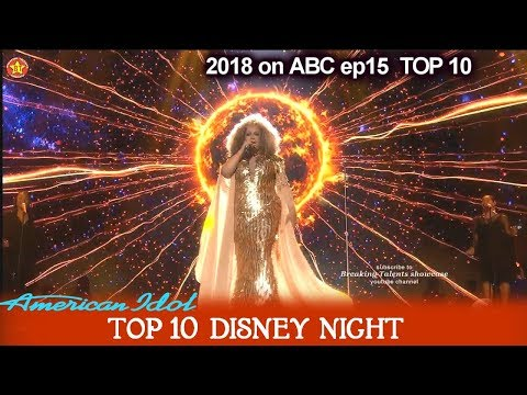 "Ada Vox Sings ""Circle Of Life"" From The Lion King Disney Night  American Idol 2018 Top 10"