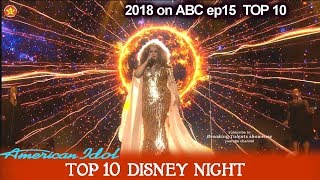 """Download Mp3 Ada Vox Sings """"circle Of Life"""" From The Lion King Disney Night  American Idol 20"""