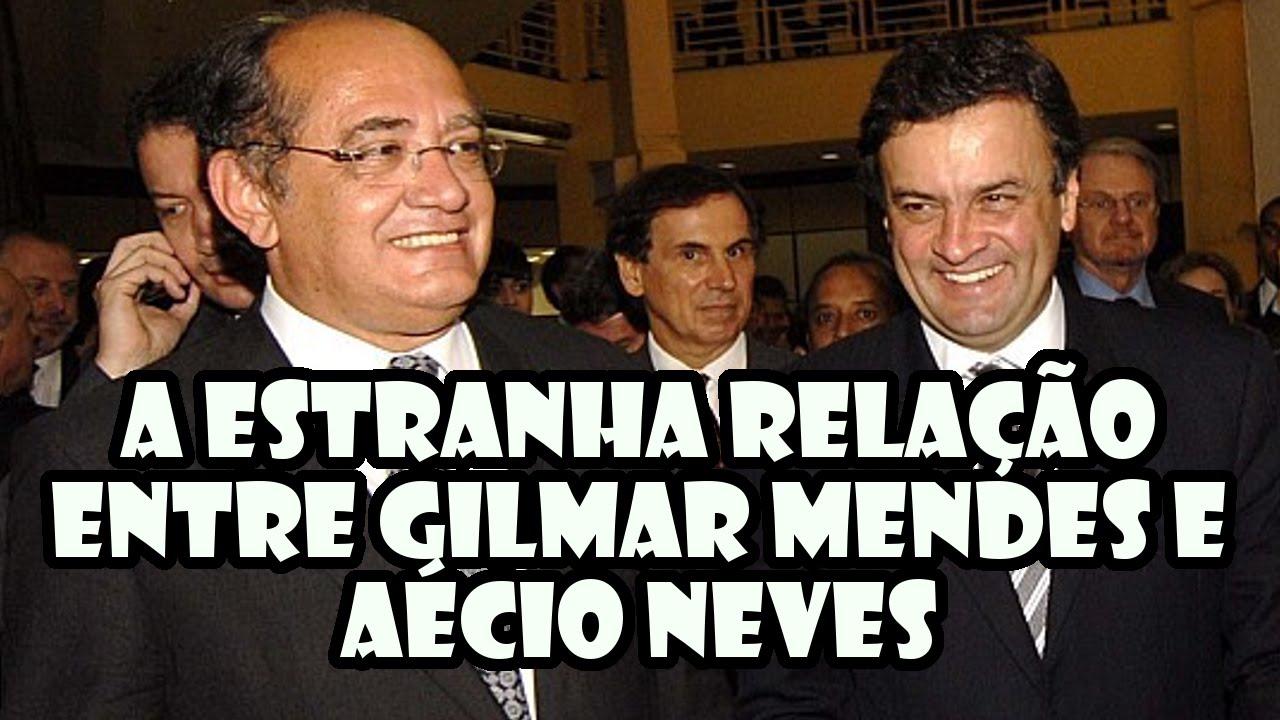 Resultado de imagem para Fotos de Gilmar Mendes e Aecio Neves