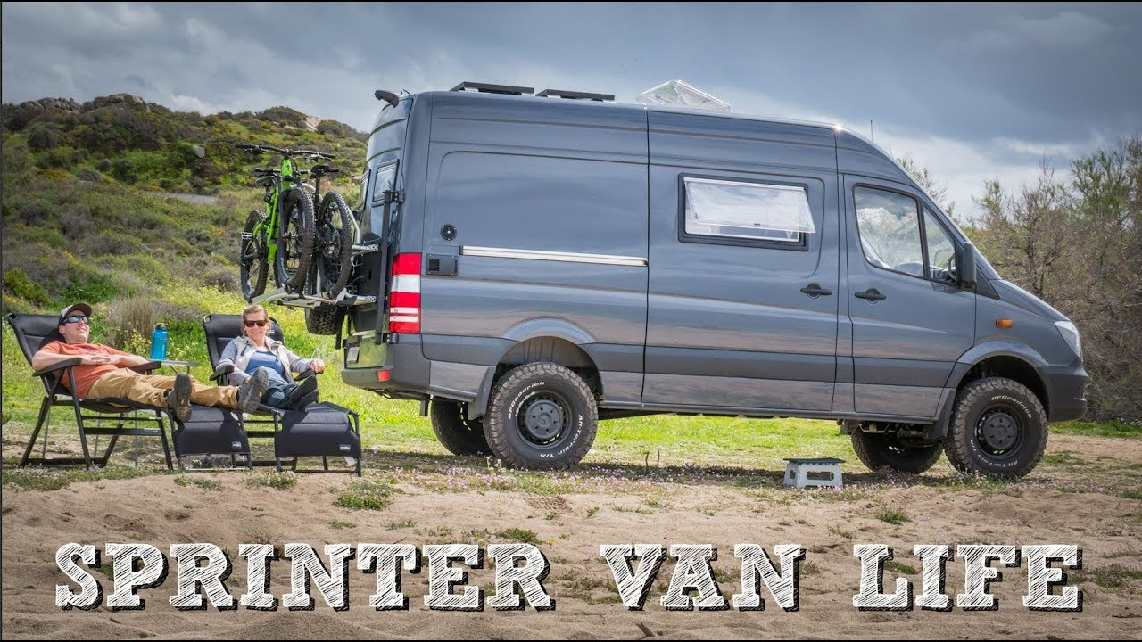 Mercedes Sprinter Van Conversion 4x4 Vanlife Korsika CamperX