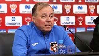 """Урал"" - ""Краснодар"": пресс-конференция"