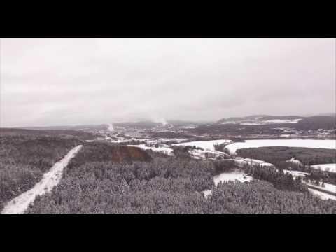 A Snowy Day in Madawaska
