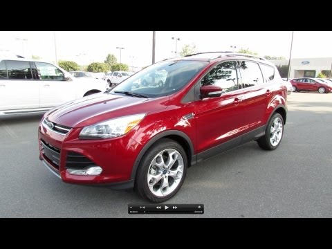 2013 Ford Escape Titanium 4WD Start Up, Exhaust, and In Depth Review